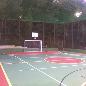 Reforma de quadras poliesportivas