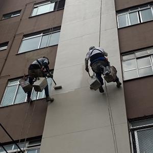 Serviço de restauração de fachada